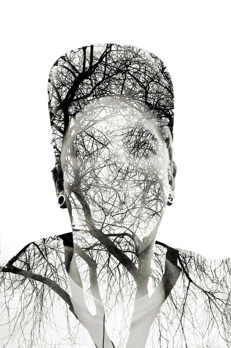 Photograph Tree Man- Double exposure by Gabrial Deacon on 500px