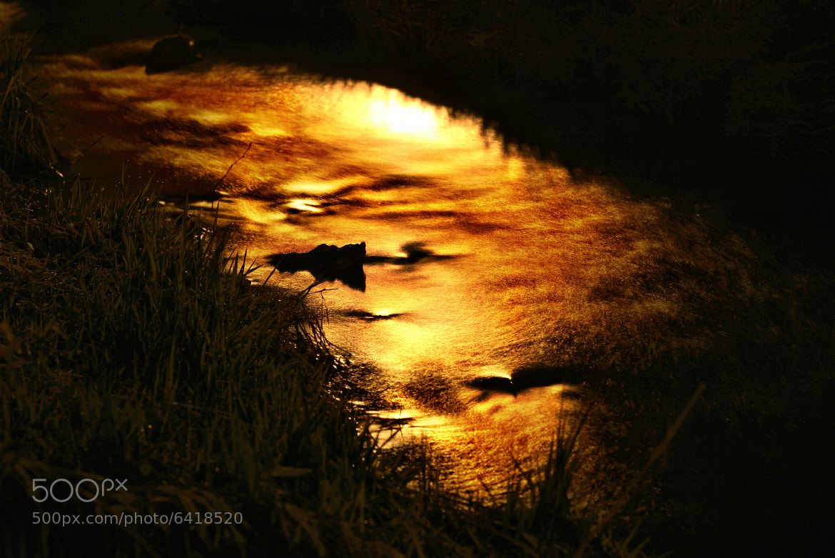 Photograph sunset river by Christopher  Hassler on 500px