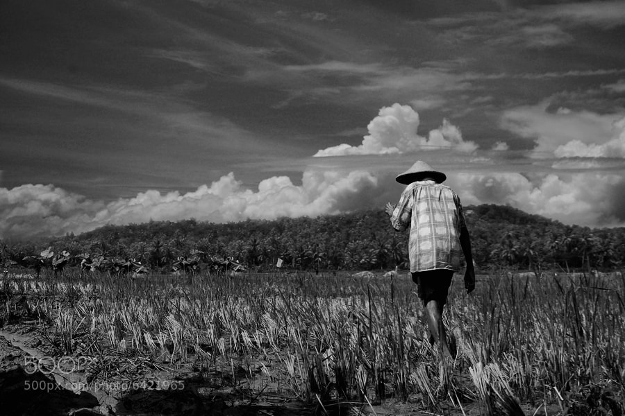 Photograph The farmer B+W by 3 Joko on 500px