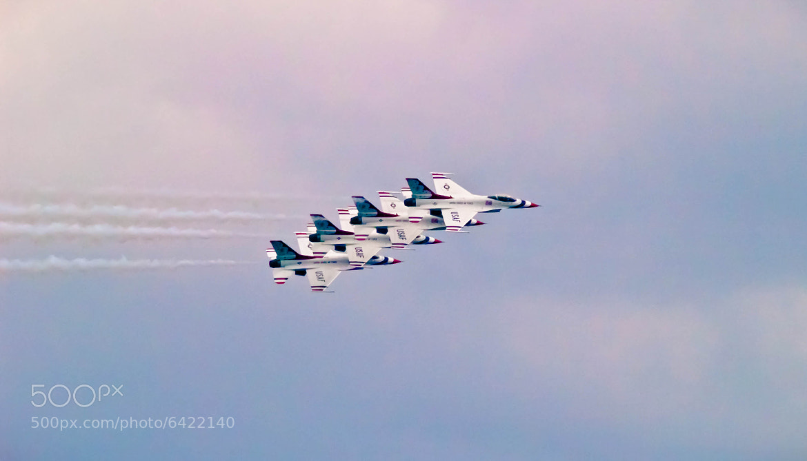 Photograph The Thunderbirds by Ben Stathus on 500px