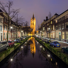 Постер, плакат: City Center of Delft The Netherlands