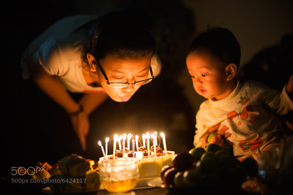 Photograph Her birthday by Hai Thinh on 500px