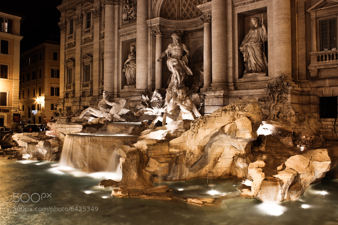 Photograph Fontana De Trevi by Ashneil Kumar on 500px