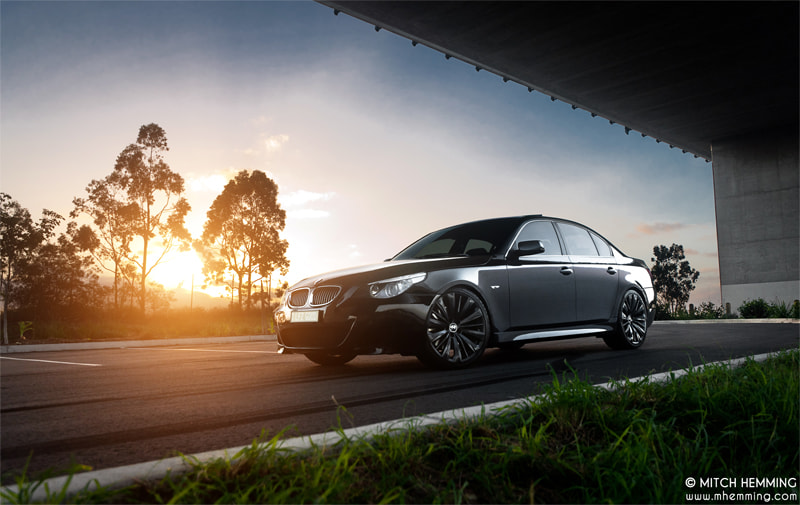 Photograph BMW 545i by Mitch Hemming on 500px