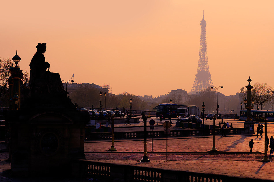 Photograph Paris Sunset by Richard Susanto on 500px