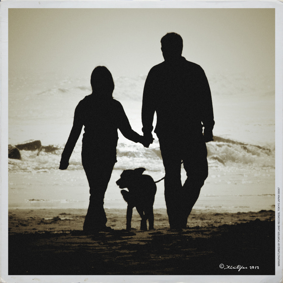 Photograph Unknown Couple Walking On Beach by Xhristofer Le'Ur on 500px