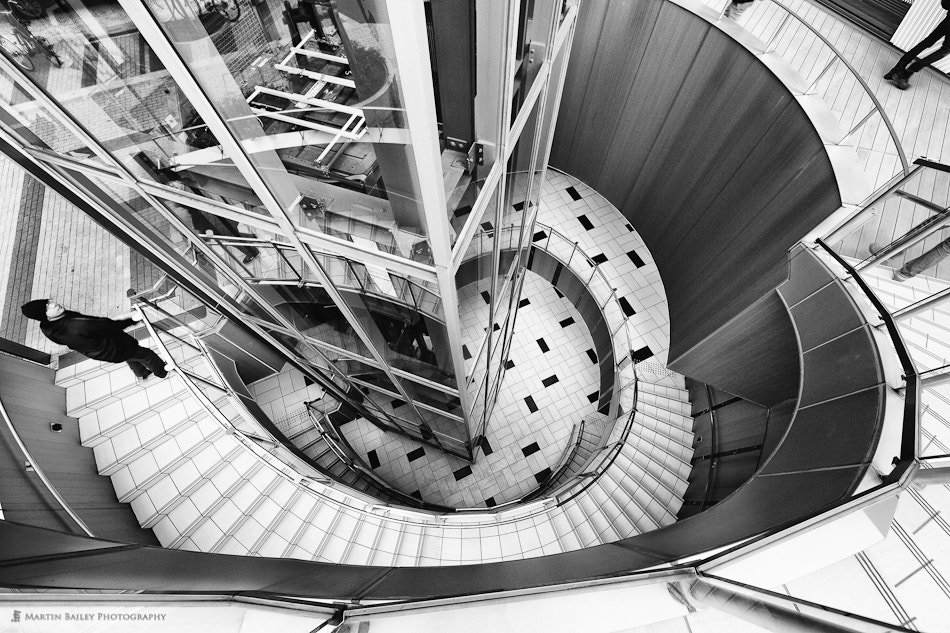 Photograph Spiral Staircase by Martin Bailey on 500px