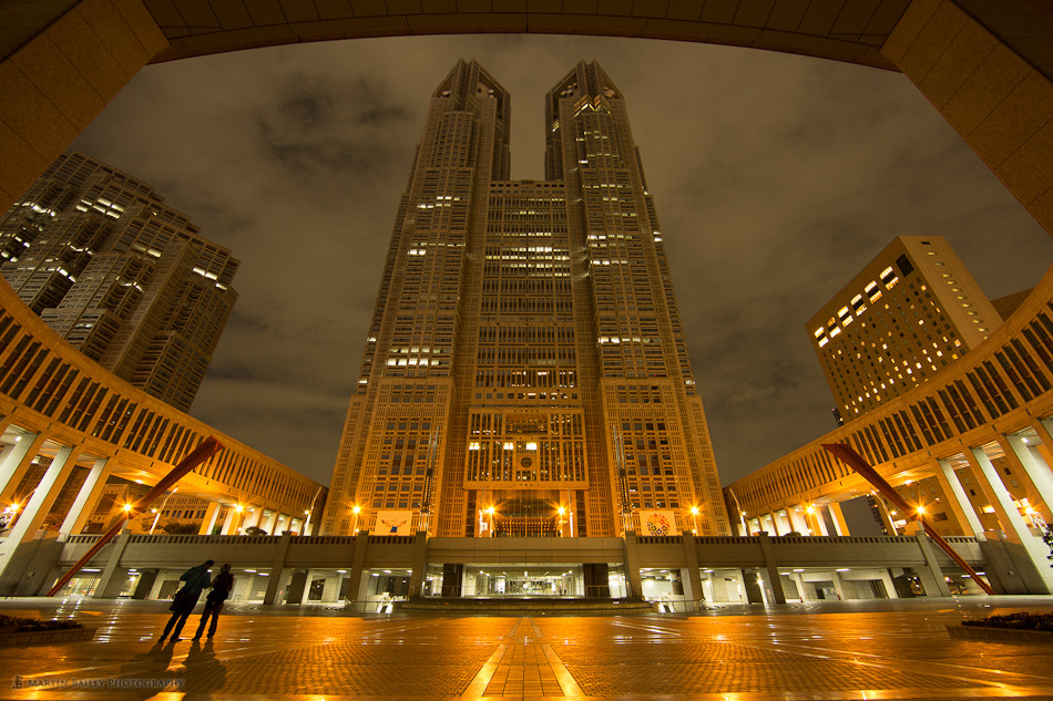 Photograph Tokyo Metropolitan Government Building by Martin Bailey on 500px