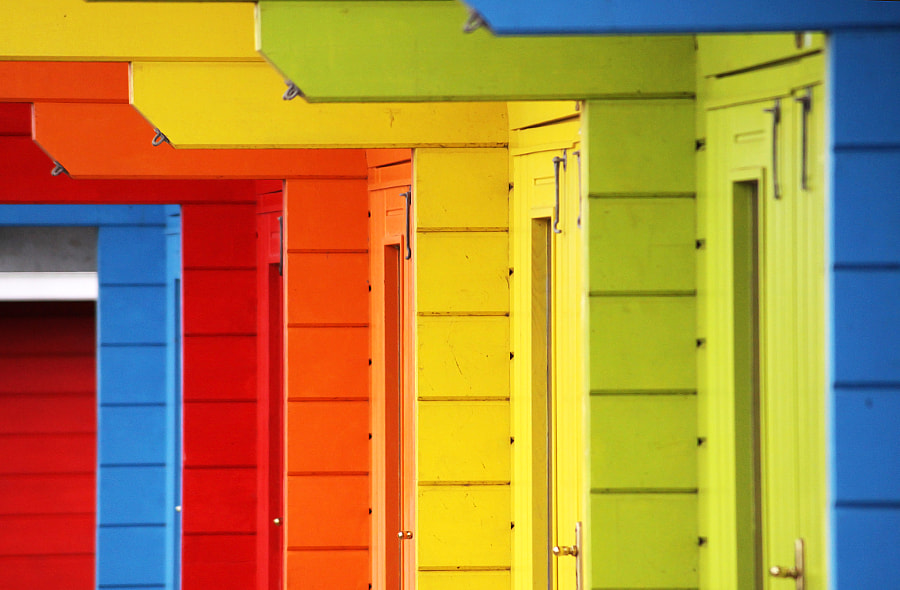 Beach Huts by Carl D on 500px.com