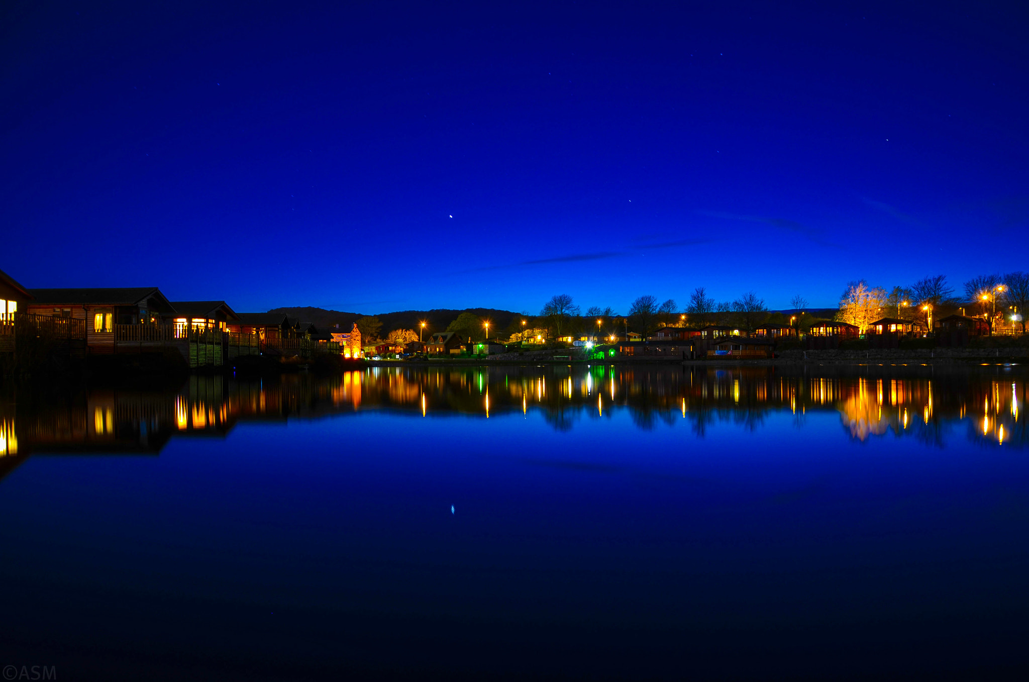 Photograph Night Reflection  by ASM . . .  on 500px