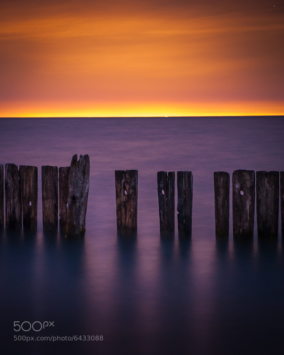 Photograph Purple Orange Sky Hues by Insight Imaging John Ryan  on 500px