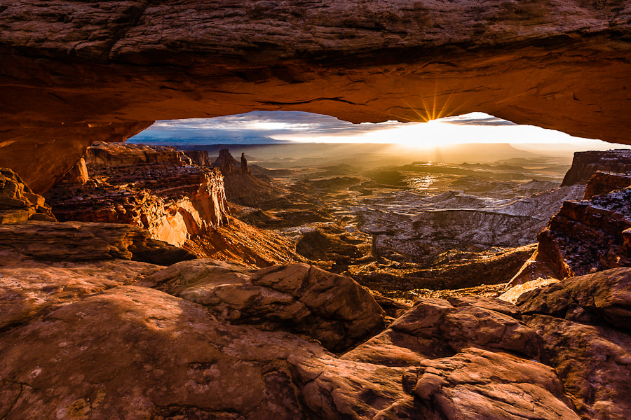 Photograph Mesa Arch in Morning Light by Hans Kruse on 500px