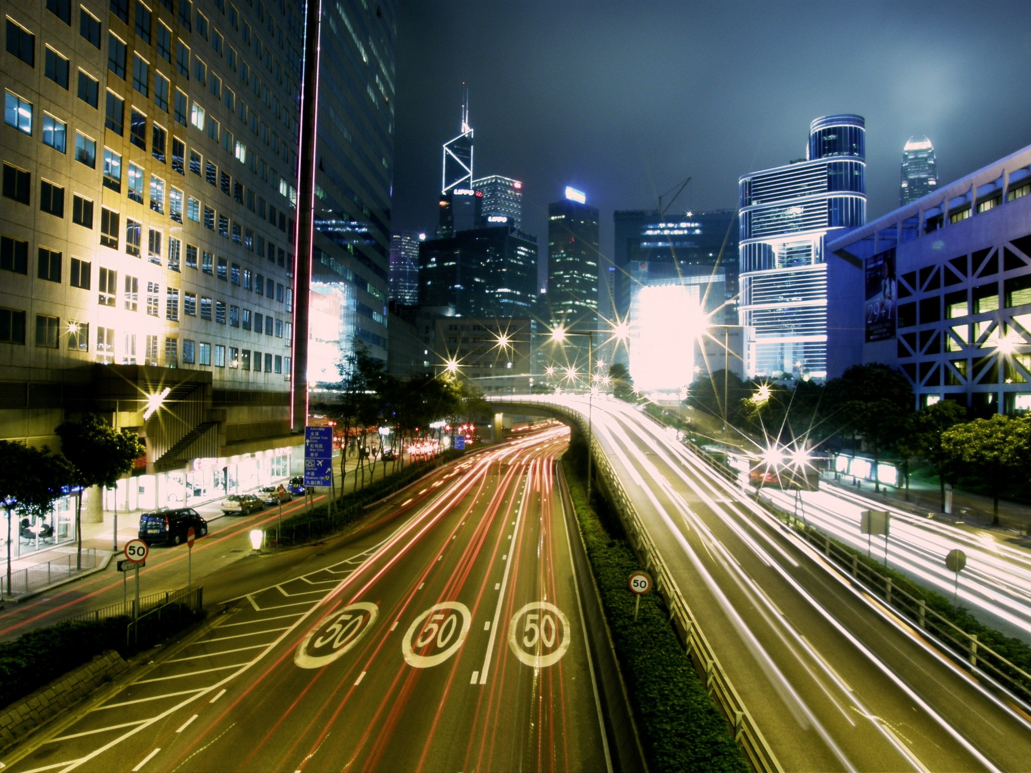 Photograph Hong Kong highway by Alexandre BLANCHARD on 500px