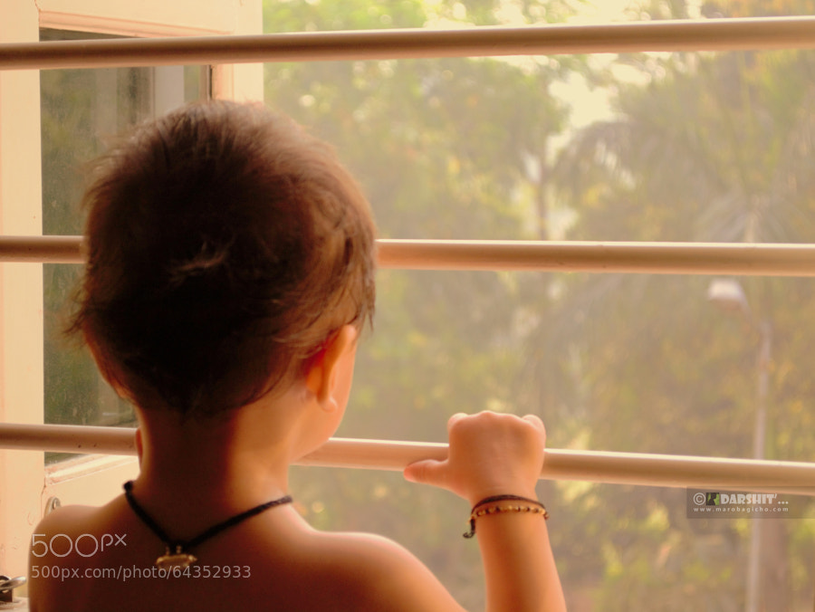 Photograph window eye by Darshit  on 500px