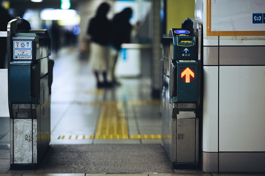 Photograph In Tokyo Metro by Loic Labranche on 500px