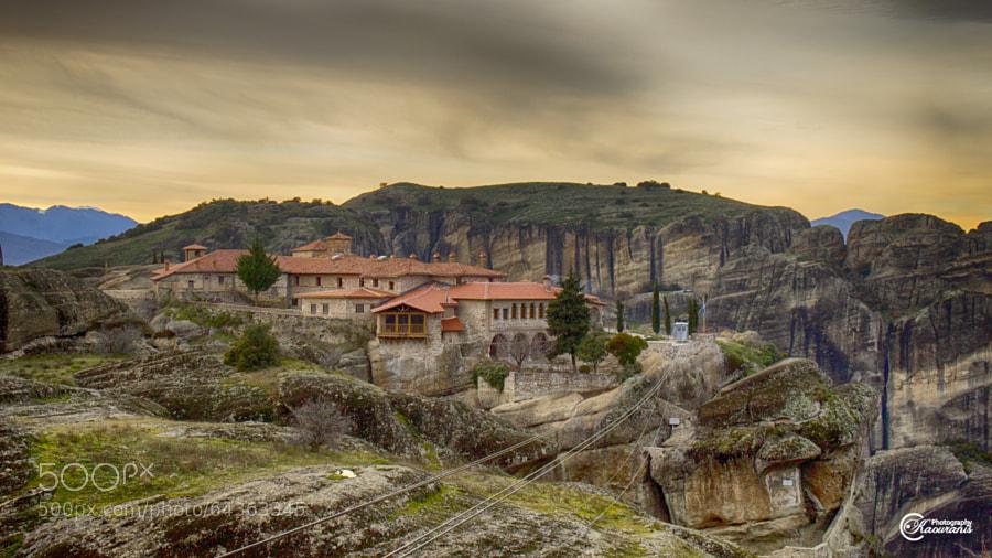 Agia Triada(Holy Trinity) Monastery Meteora by Jokerf1 ...