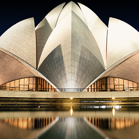 Lotus Temple by Vikram Arora (vikramarora) on 500px.com