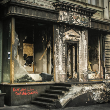 Burned Out Storefront