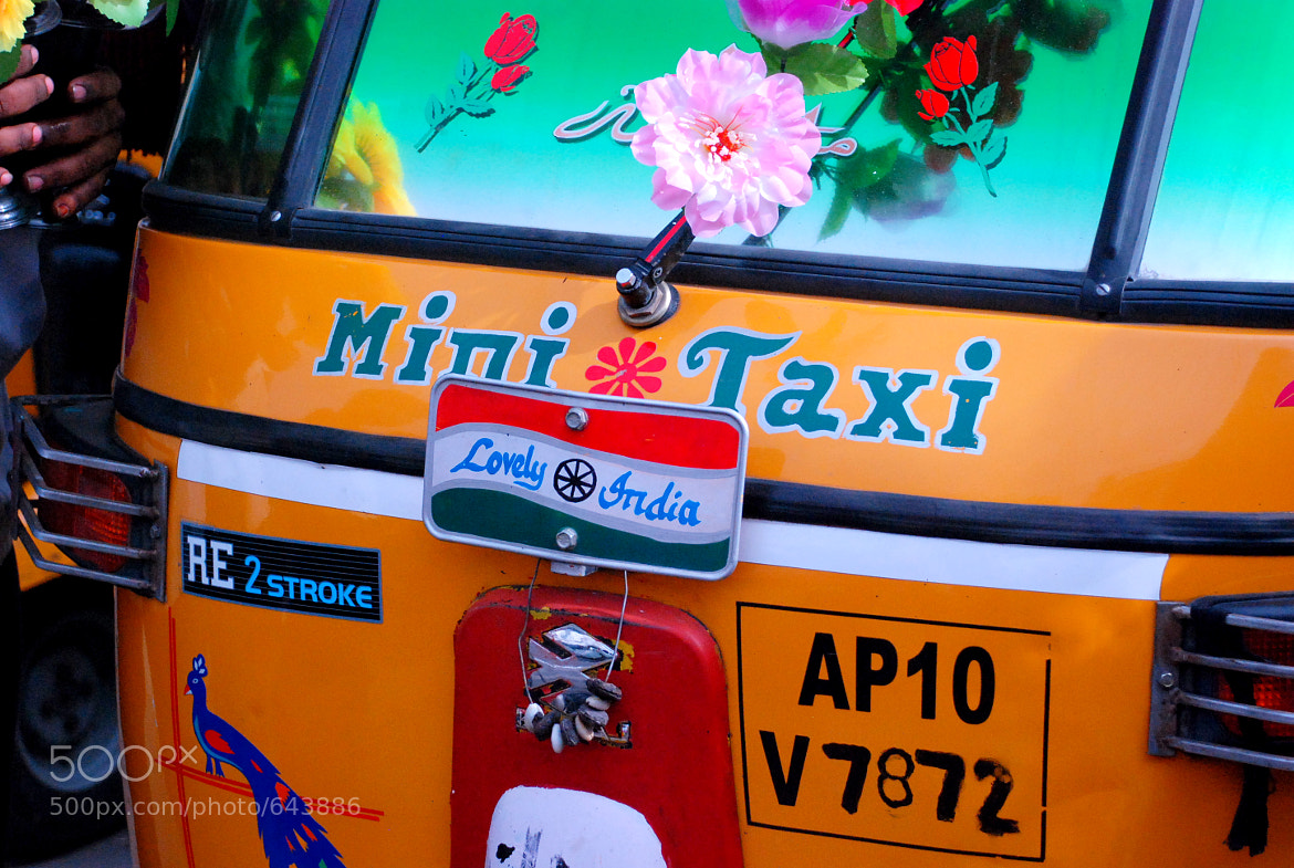 Photograph Mini Taxi by Afrin Catalano on 500px