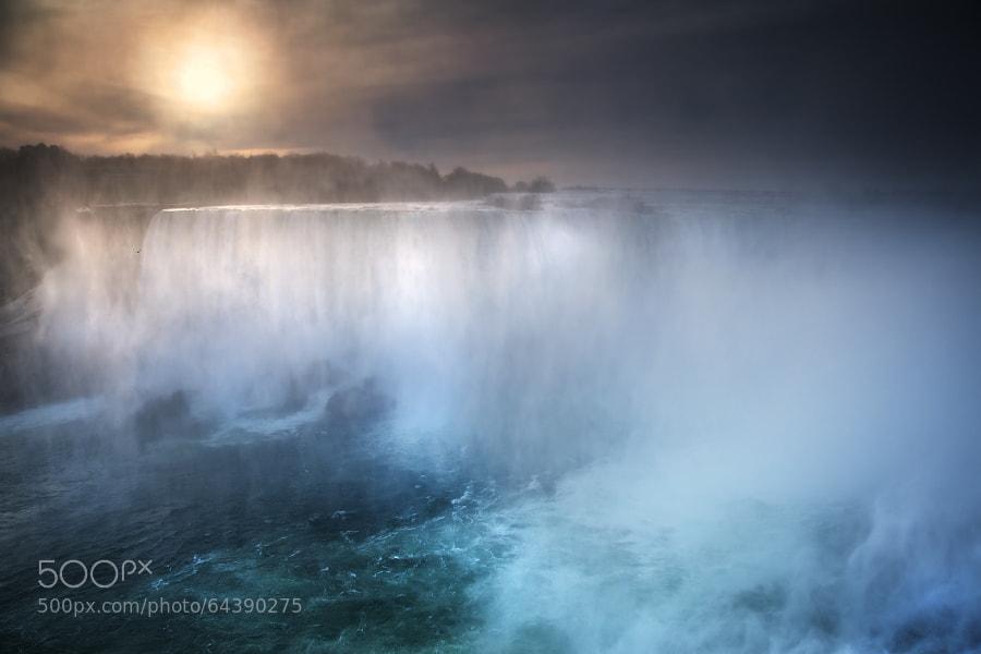 Early morning at Niagara