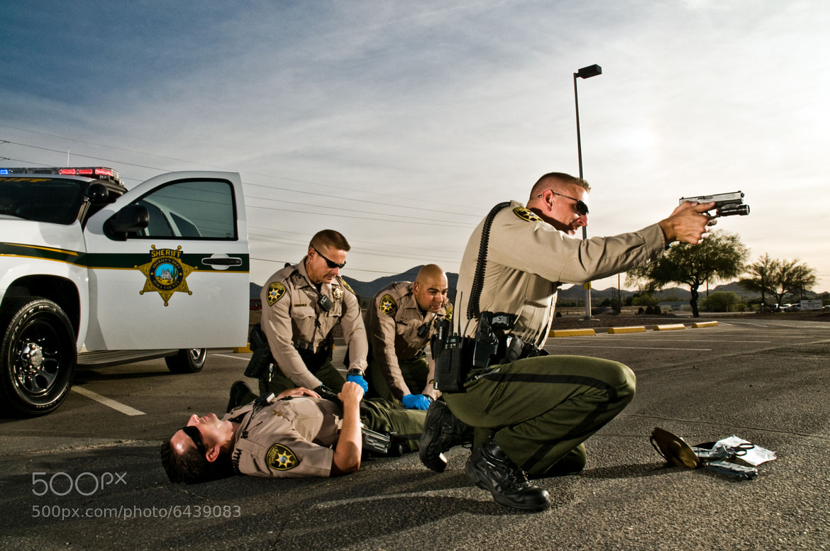 Photograph Down Officer by Matthew Strauss on 500px