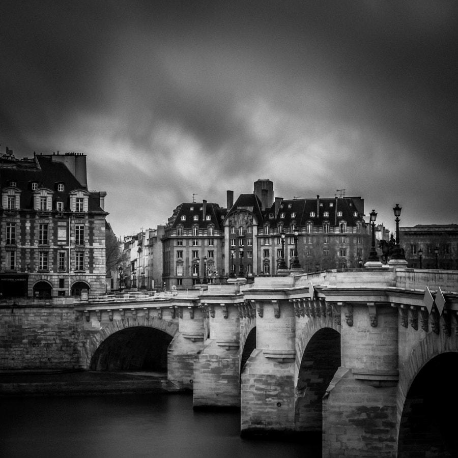Pont Neuf Bridge long exposure