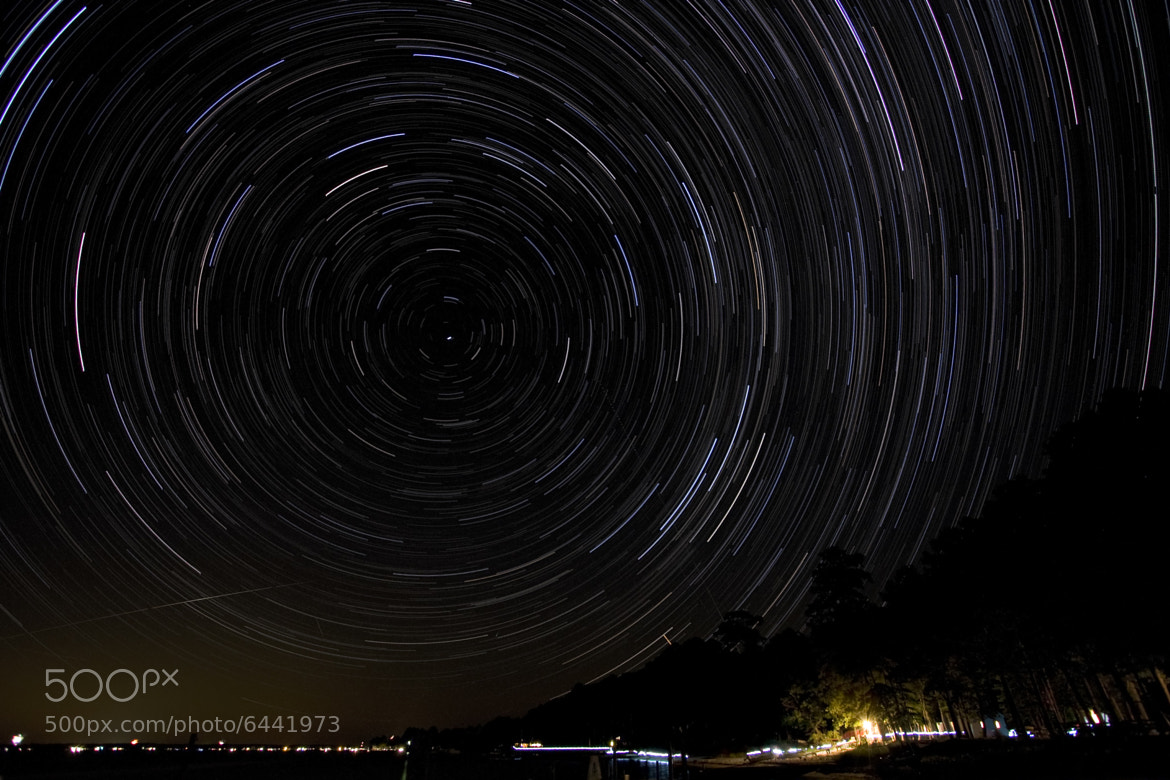 Photograph Star trails by Nathan Schepker on 500px