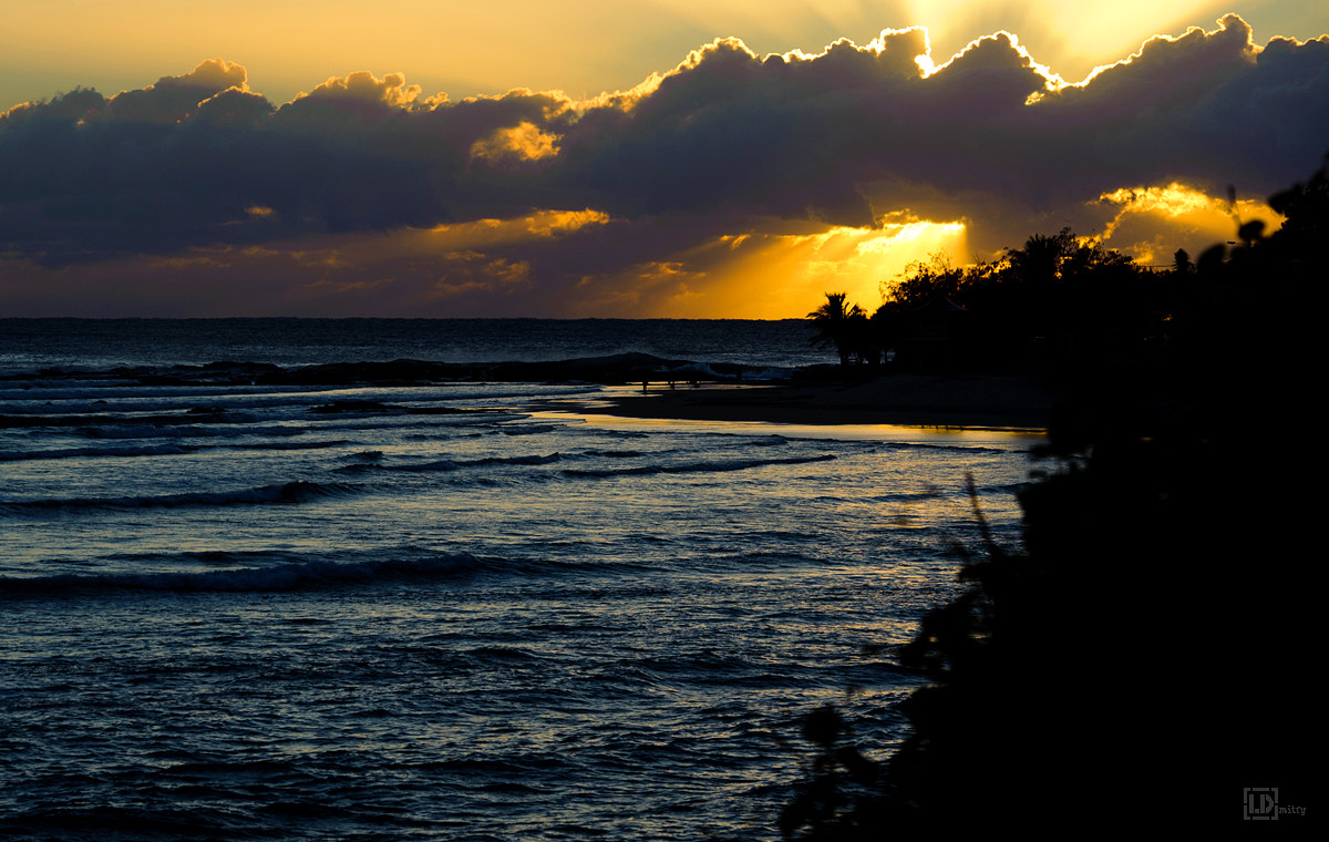 Photograph Silhouettes. Sunrise. Snapper Rocks by  [L D]mitry on 500px