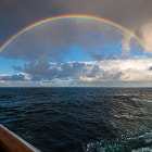 Постер, плакат: Rainbow at Sea