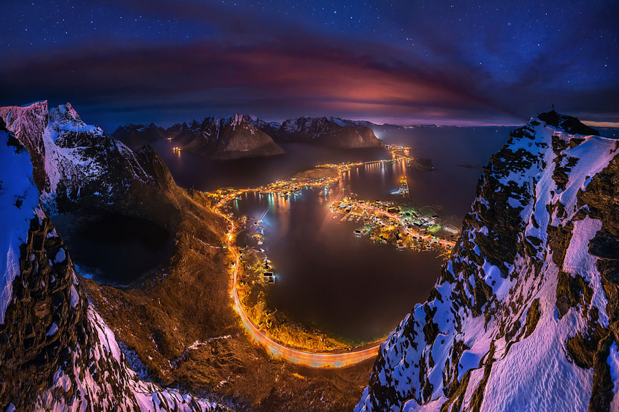 Lights From a Height by Max Rive on 500px.com