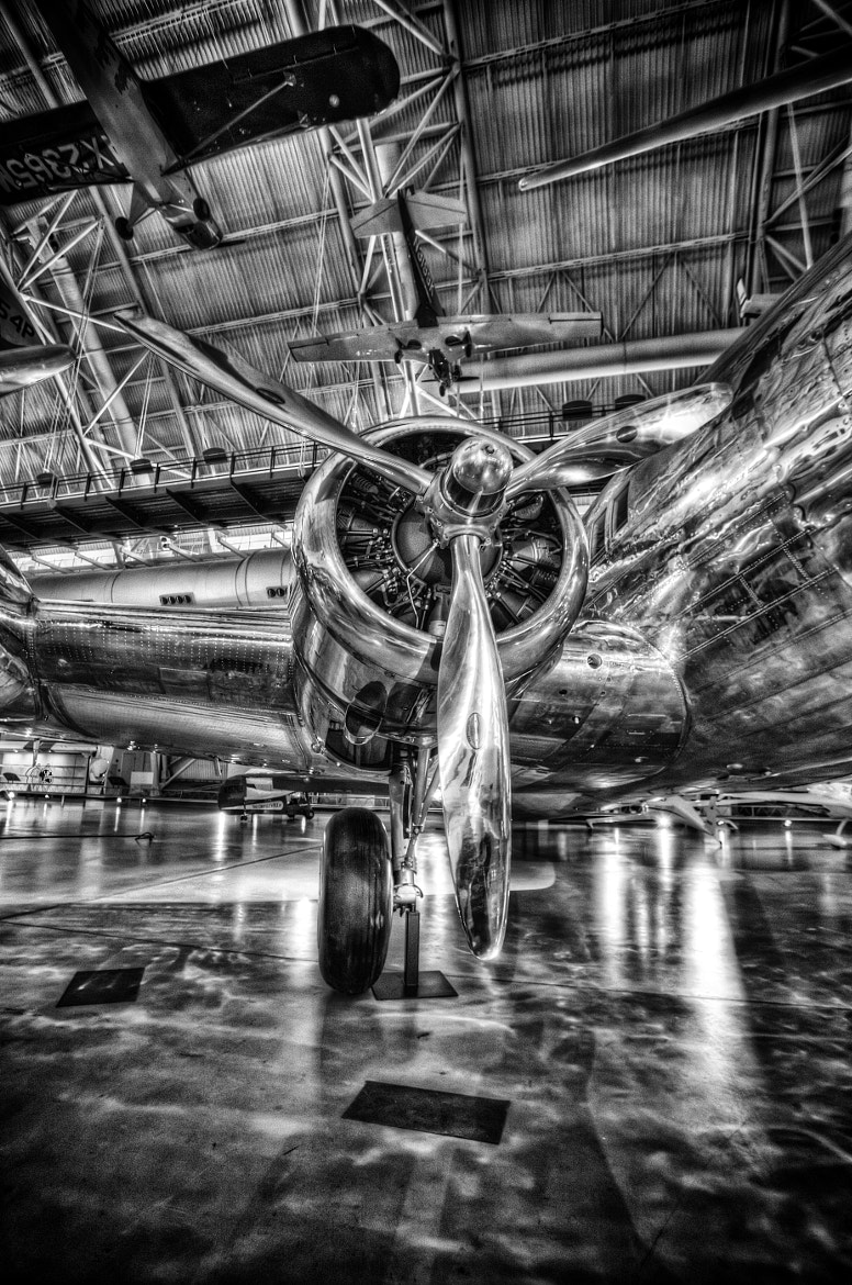 Photograph Boeing 307 Stratoliner Engine by Michael Noirot on 500px