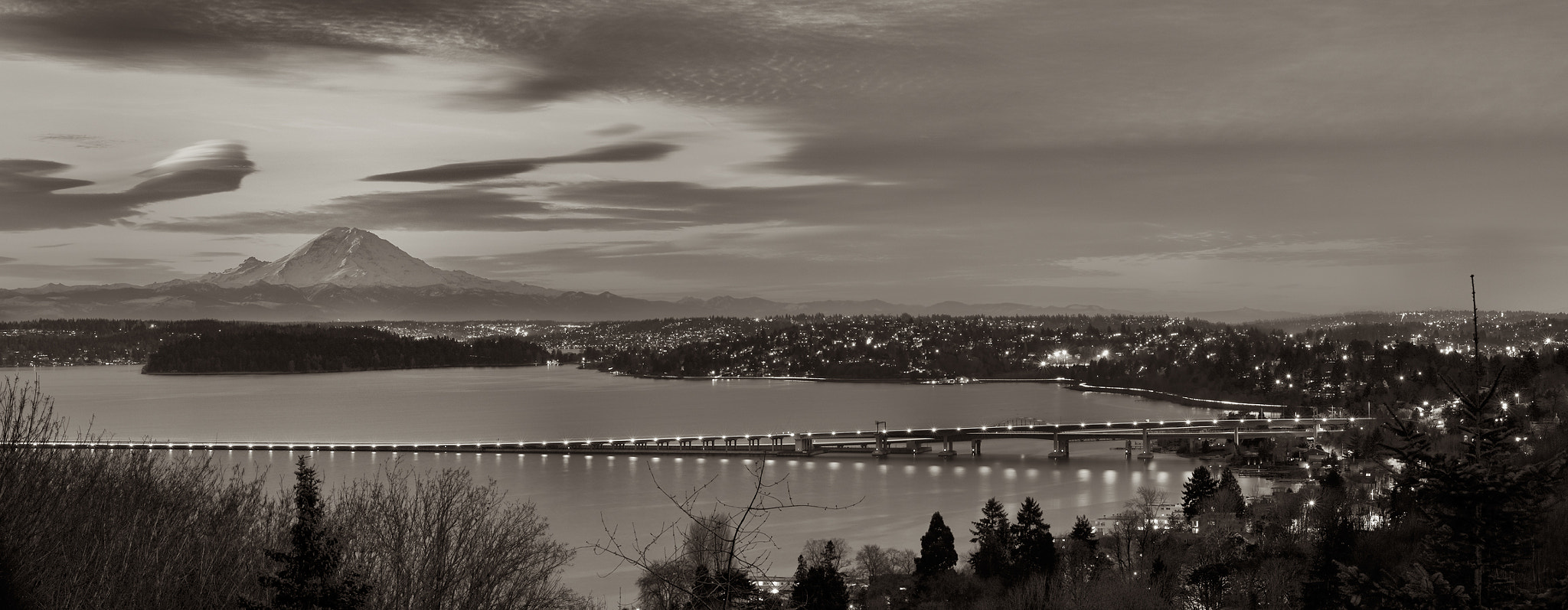 Photograph Mount Rainier from Leschi by Chris Wilhelm on 500px