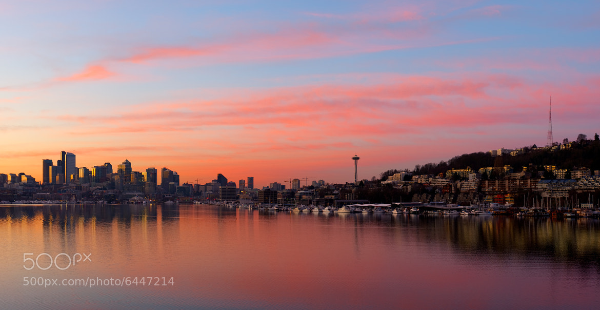 Photograph Good Morning Seattle II by Chris Wilhelm on 500px