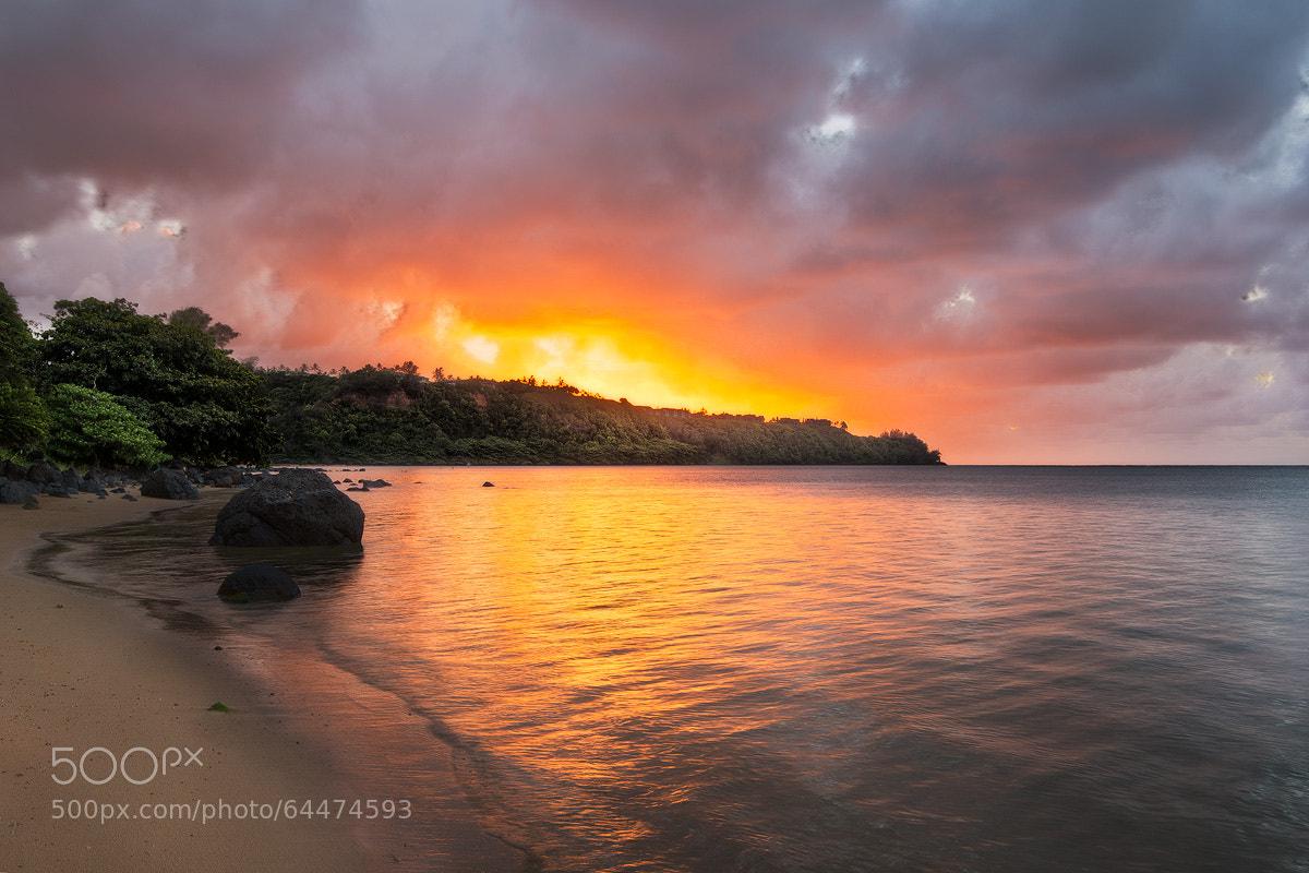 Photograph Anini Beach - Kauai, HI by Andre Distel on 500px