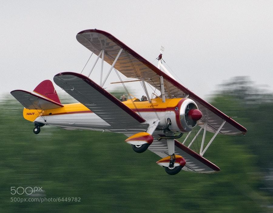 Jane Wicker's Stearman bi-plane called Aurora