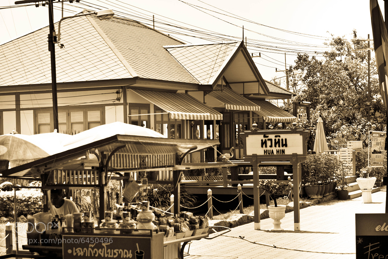 Photograph Hua Hin Railway Station Thailand by Foto Pretty on 500px