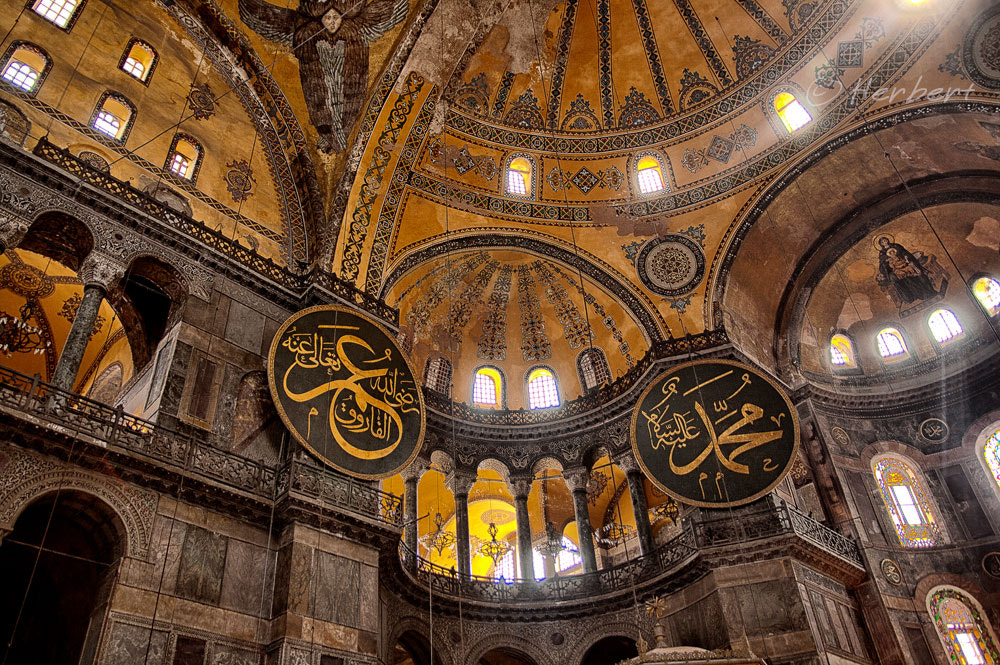 Photograph Inside Hagia Sofia 2 by Herbert Wong on 500px