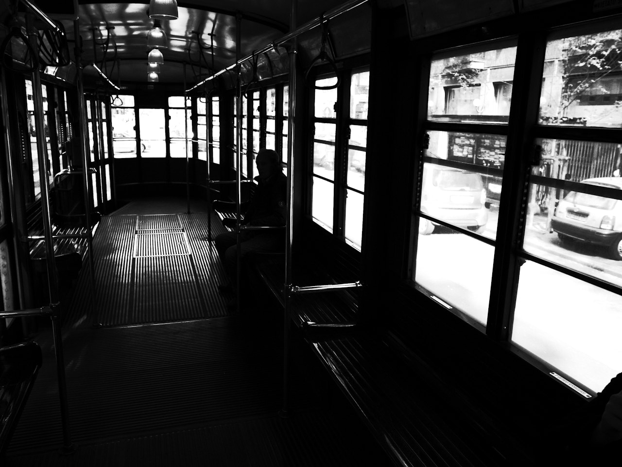Photograph TRAM (HighContrastLife Project) by Riccardo  Villani on 500px