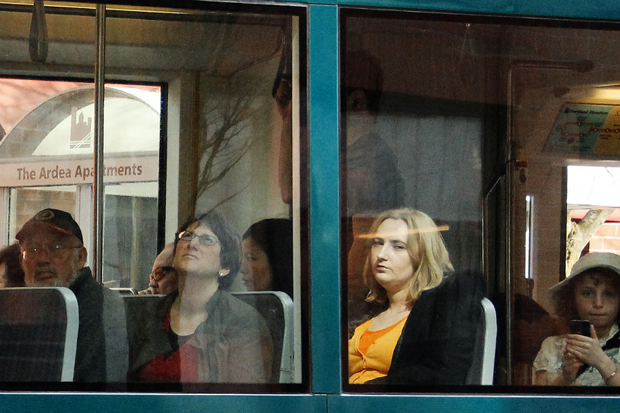 People on a Train