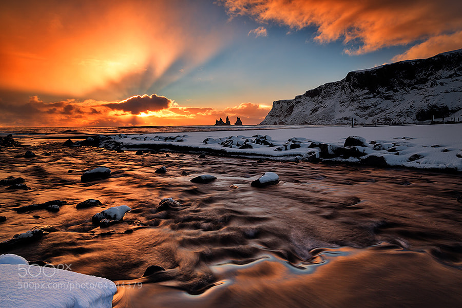 Photograph Vik Rays by Tony Prower on 500px