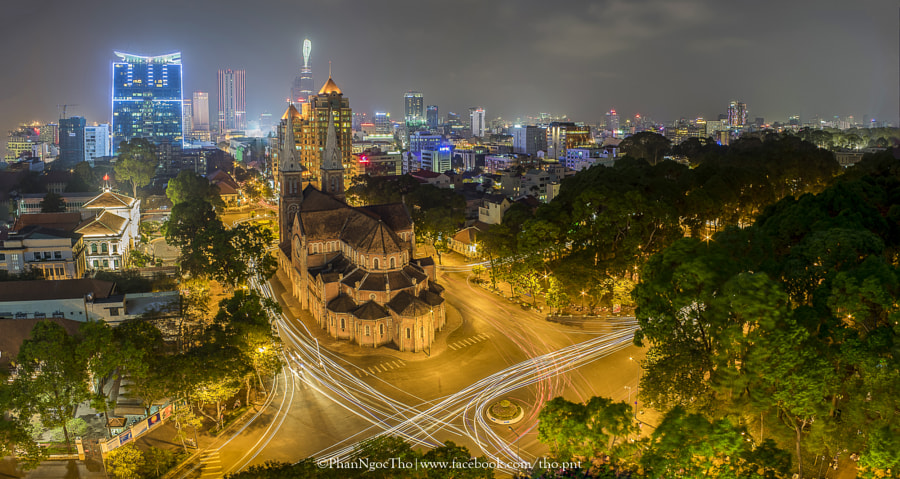 nhàThoDucBa -Immaculate Conception Cathedral Basilica - Cathédrale Notre-Dame de Saïgon by ThoPNT (Phan Ngọc Thọ) on 500px.com