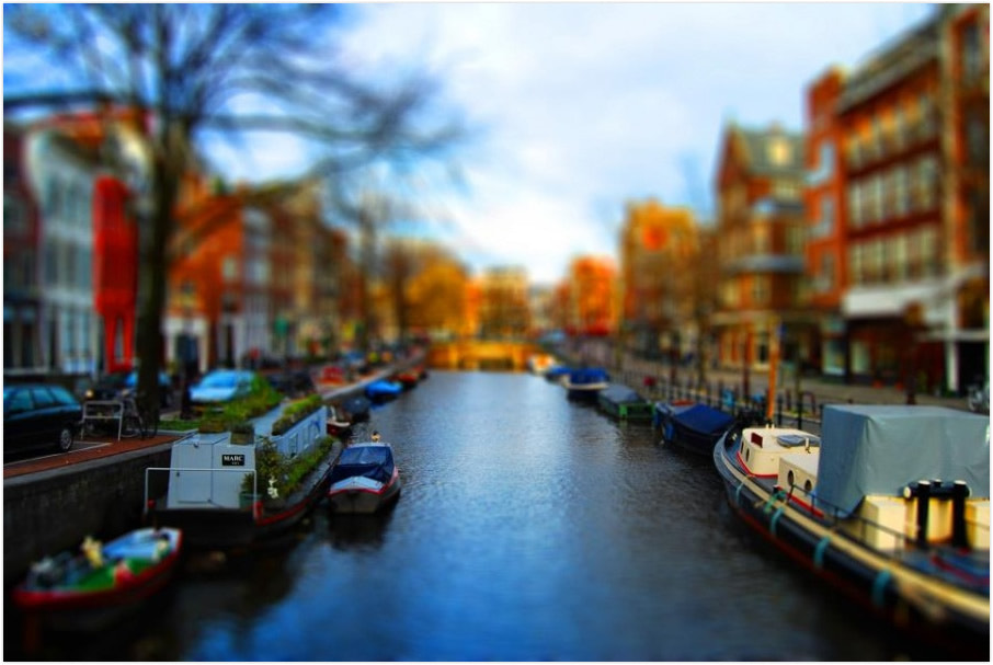 Photograph Amsterdam shif tilt work with photoshop by alphanos on 500px