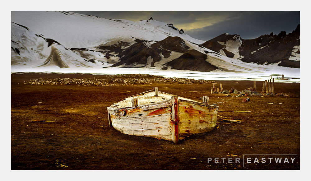 Photograph Water Boat Study #2 Deception Island by Peter Eastway on 500px
