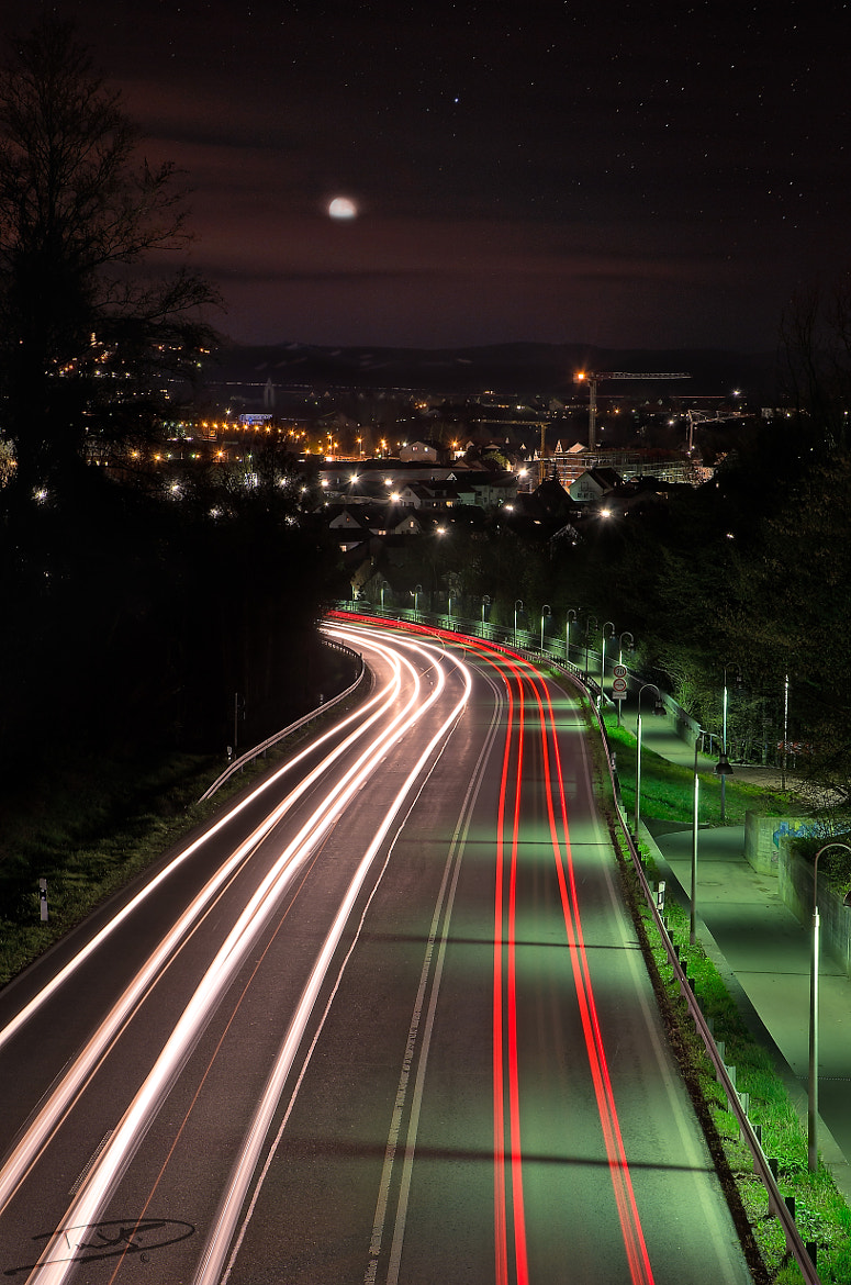 Photograph highway to city by Daniel Beck on 500px