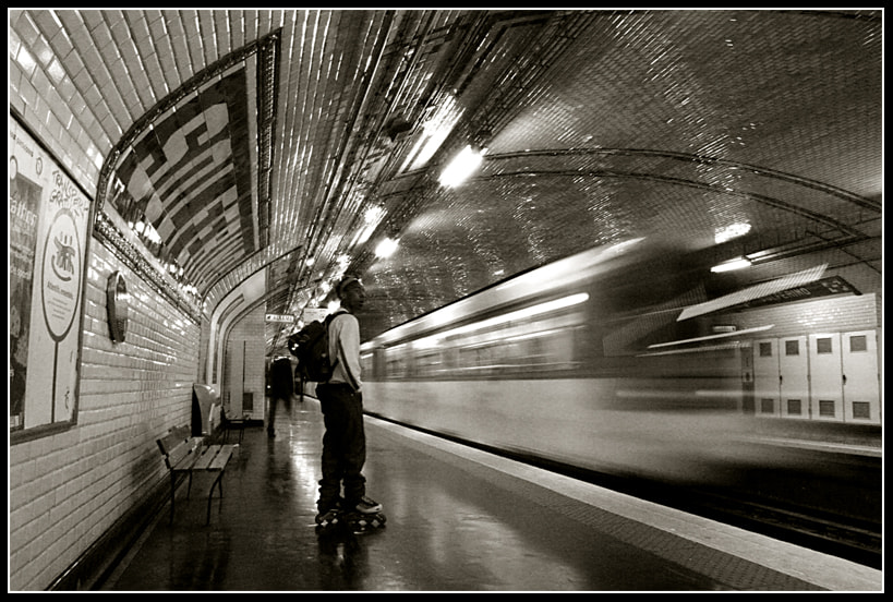 Photograph Metro Paris by Jan de Graaf on 500px