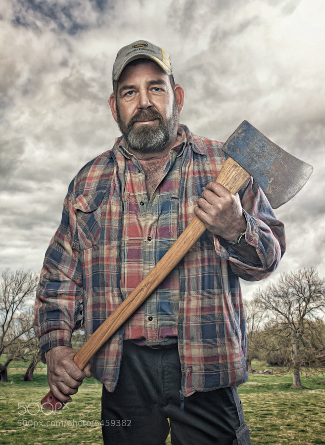 Photograph Tom the Farmer by Glyn Dewis on 500px