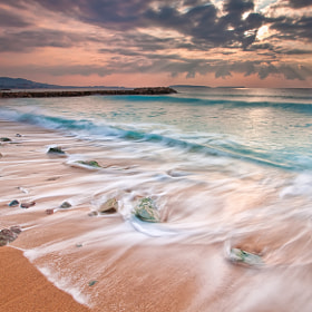 Sunrise @ Cannes La Bocca (French Riviera) by Eric Rousset (eric-rousset)) on 500px.com