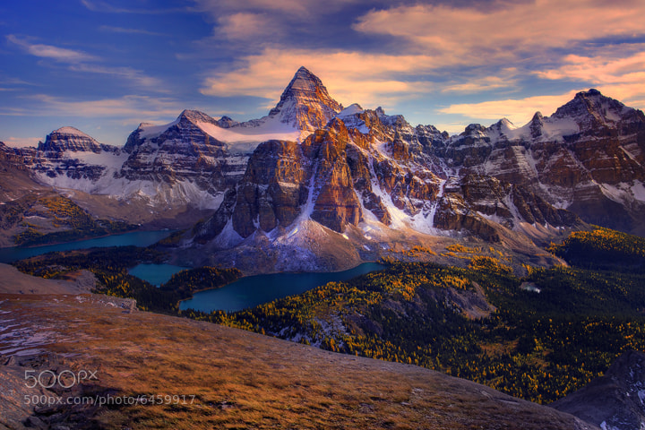 Photograph Mt Assiniboine In Late Afternoon by Kevin McNeal on 500px
