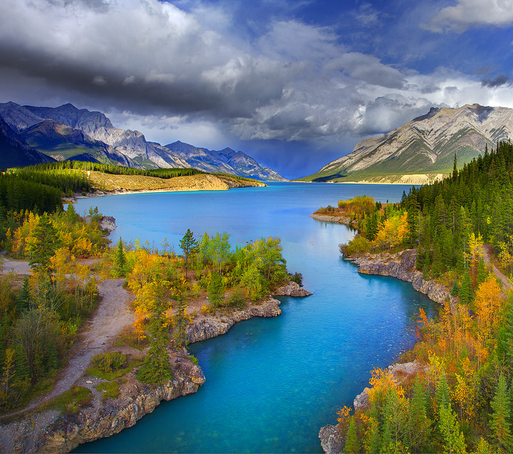 Photograph Abraham Lake in The Summer by Kevin McNeal on 500px