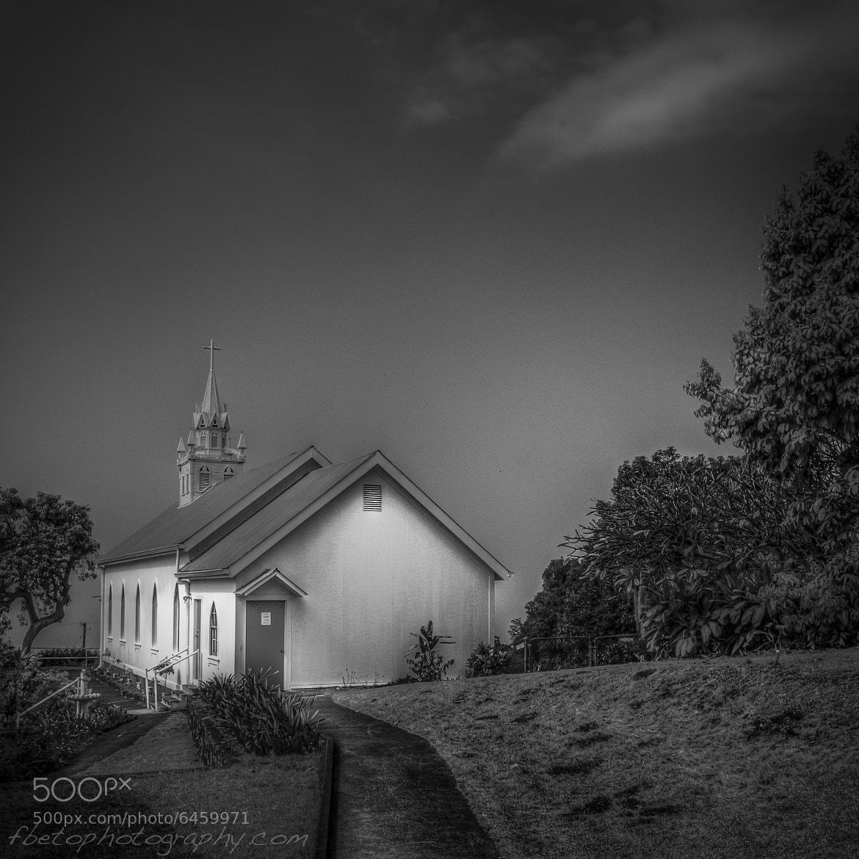 Photograph Kalapana Painted Church  by Fernando De Oliveira on 500px